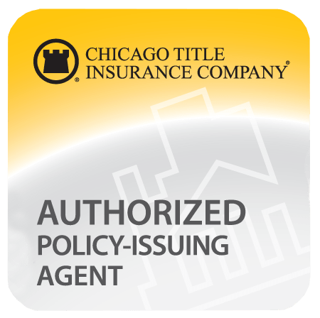 Authorized Chicago Title Insurance Company